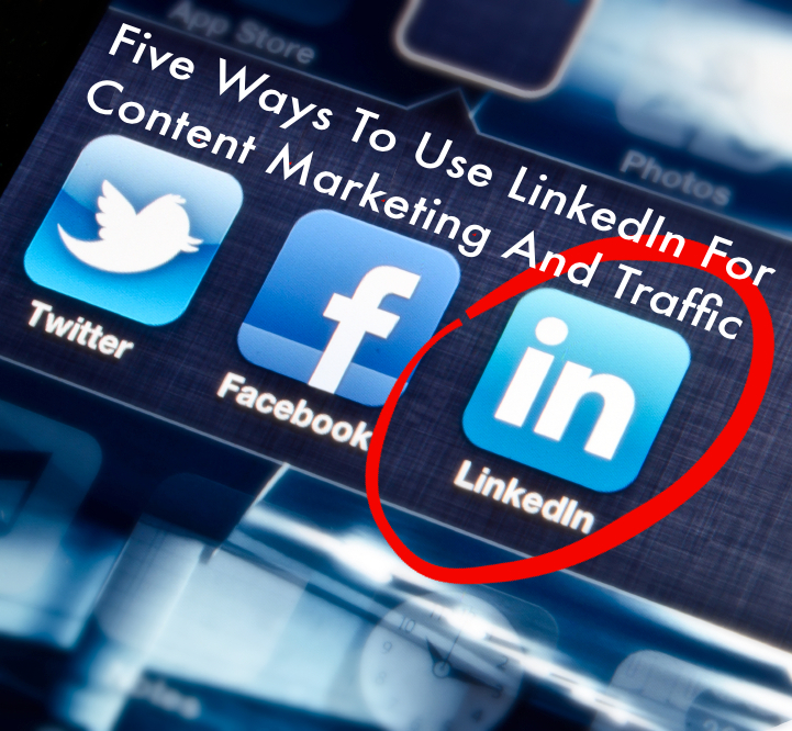 linkedin, traffic, content marketing