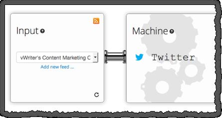 Add a new content marketing machine